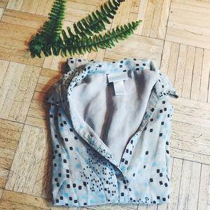 VINTAGE • worthington silk blouse